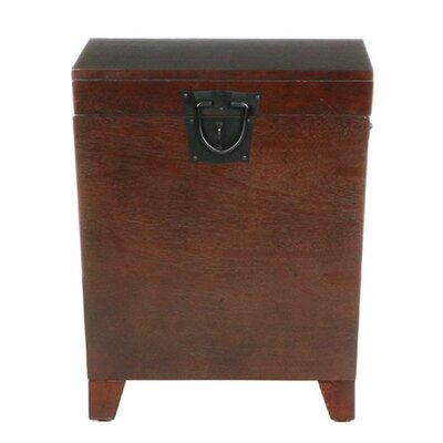 Charlton Home Boneta Trunk End Table