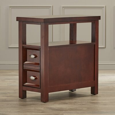 Charlton Home Herwy Chairside End Table