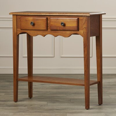Charlton Home Apple Valley Petite Console Table