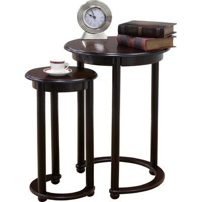 Charlton Home Vaughn 2 Piece Nesting Tables