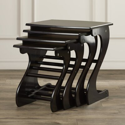 Charlton Home Beloit 4 Piece Nesting Tables