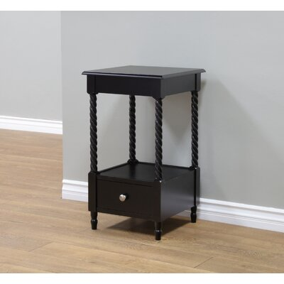 Charlton Home Pratolina 1 Drawer Nightstand