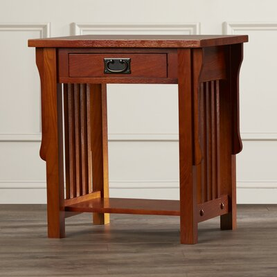 Charlton Home Bristol 1 Drawer Nightstand