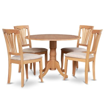 5 Piece Dining Sets charlton home gloucester 5 piece dining set & reviews | wayfair