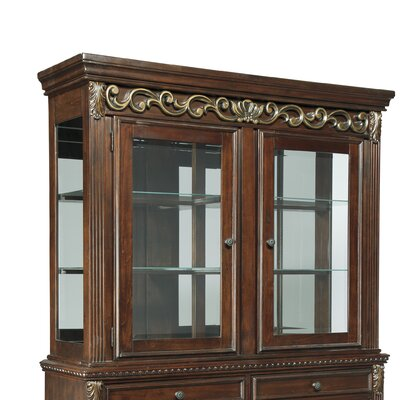 Charlton Home Portland China Cabinet Top