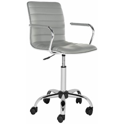Varick Gallery Apodaca Mid-Back Desk Chair with Arms