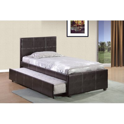 Varick Gallery Twin Upholstered Platform Bed