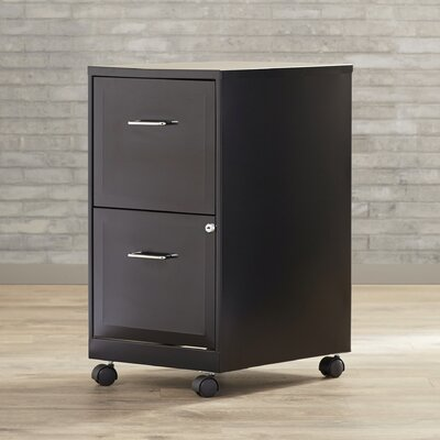 Varick Gallery Maddox 2 Drawer Mobile Vertical Filing Cabinet