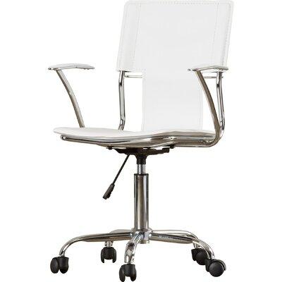 varick gallery lindbergh high-back desk chair & reviews | wayfair