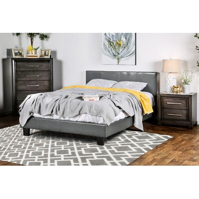 Varick Gallery Santoro Upholstered Panel Bed