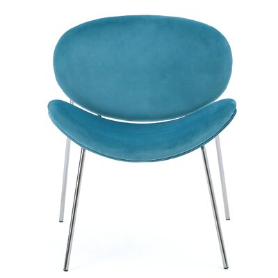 Varick Gallery Scalzo Velvet Side Chair