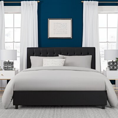 Varick Gallery Severino Upholstered Platform Bed