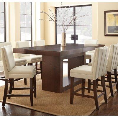 Brayden Studio Antonio Counter Height Dining Table U0026 Reviews | Wayfair