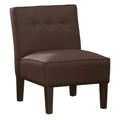 Brayden Studio Regal Armless Chair with B..