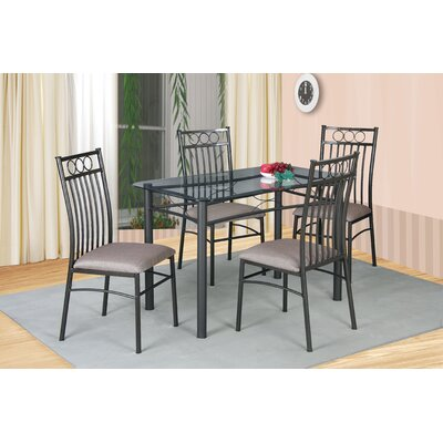 Andover Mills Temperance 5 Piece Dining Set