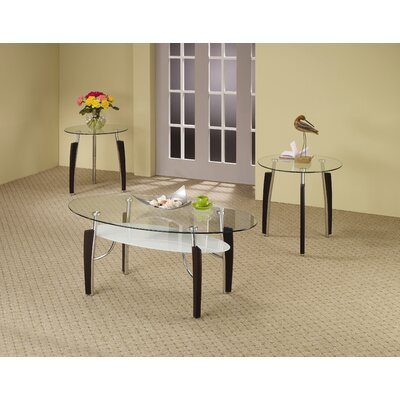 Brayden Studio Markley 3 Piece Coffee Table Set