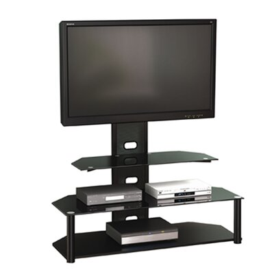 Brayden Studio Candler Flat Panel TV Stand with Intregrated Mount