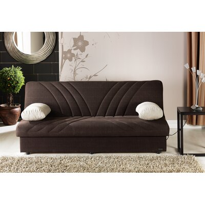 Brayden Studio Justice Three Seat Sleeper Sofa