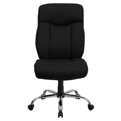 Brayden Studio Burgess High-Back Big & Tall Leather Office Chair Image
