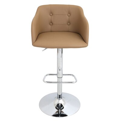 Brayden Studio Duerr Adjustable Height Swive..