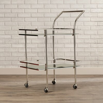 Brayden Studio Antai Boyer Serving Cart