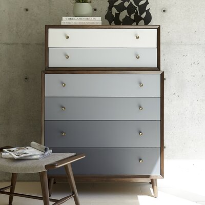 Brayden Studio Dailey 6 Drawer Chest