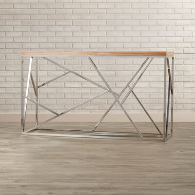 Brayden Studio Hiller Console Table