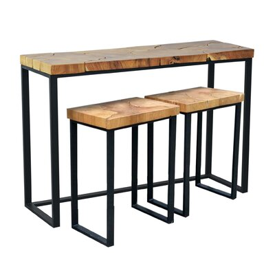 Brayden Studio Hoekstra 3 Piece Table Set