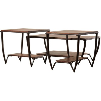 Brayden Studio Desantis 3 Piece Coffee Table Set