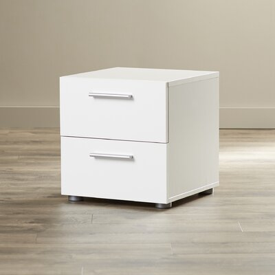 Brayden Studio Lopiccolo 2 Drawer Nightstand