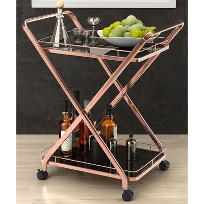 Brayden Studio Spaulding Serving Cart