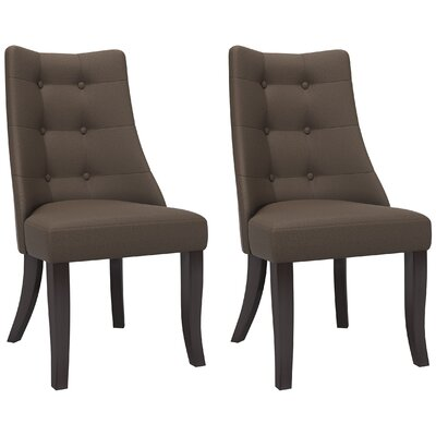 Brayden Studio Iris Parsons Chair (Set of 2)