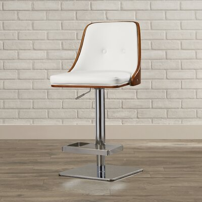 Brayden Studio Bleadon Adjustable Height Swivel..