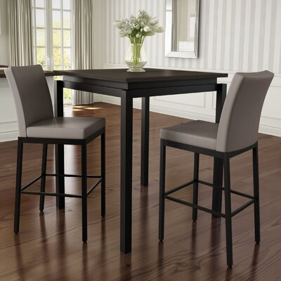 Brayden Studio Candlewood 3 Piece Pub Table Set