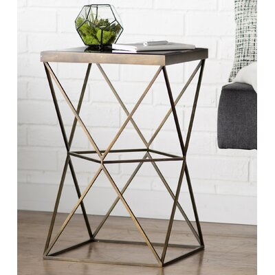 Brayden Studio Bremond Block Frame End Table