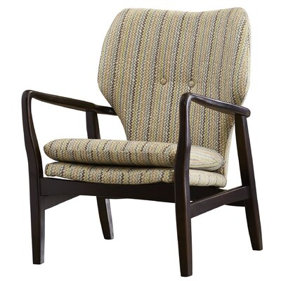 Brayden Studio Samson Wood Arm Chair