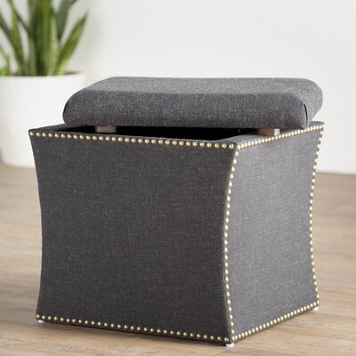 Brayden Studio Goldsberry Nail Button Storage Ottoman