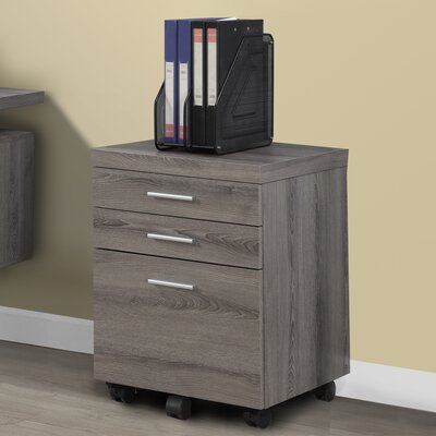 Brayden Studio Canipe 3-Drawer Mobile ..