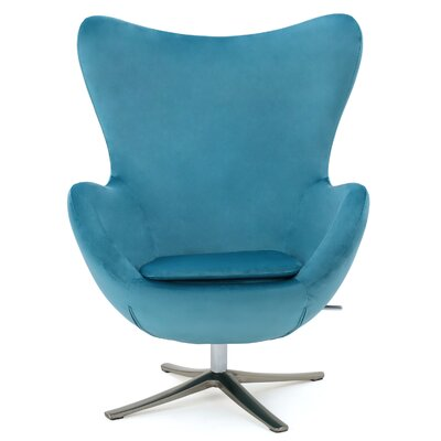 Brayden Studio Korinna Swivel Club Chair