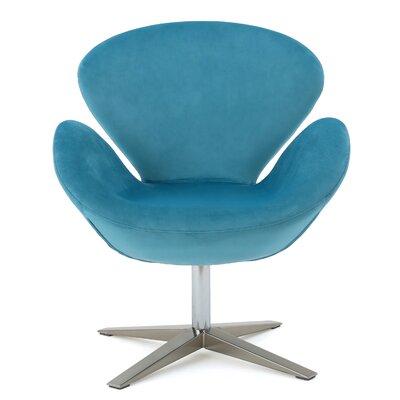 Brayden Studio Khronos Swivel Club Chair