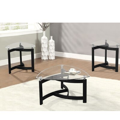 Brayden Studio Middle Village 3 Piece Coffee Table Set