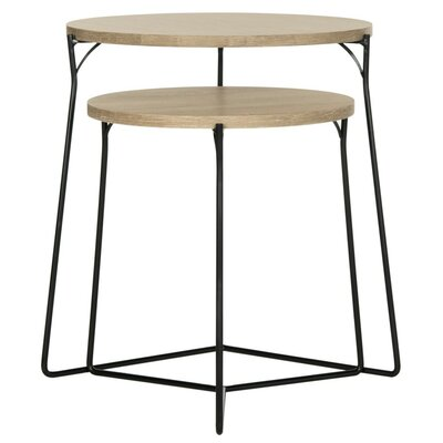 Brayden Studio Dejong 2 Piece Nesting Tables
