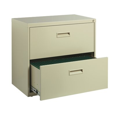Wade Logan Walt 2 Drawer Lateral Filing Cabinet