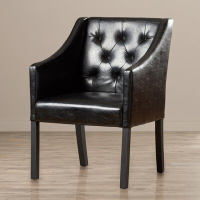 Wade Logan Newton Tufted Arm Chair