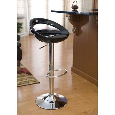 Wade Logan Cedar Park Adjustable Height Bar Stool