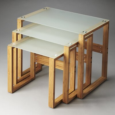Wade Logan Allentown 3 Piece Nesting Tables
