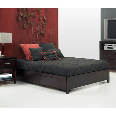 Red Barrel Studio Danby Storage Platform Bed