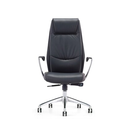 Wade Logan Wesley High-Back Office Chair with Arms