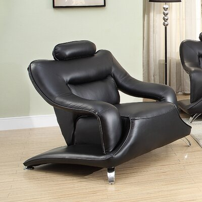 Wade Logan Trystan Modern Arm Chair