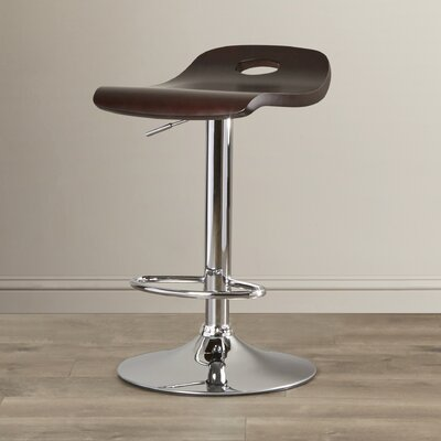Wade Logan Humphrey Adjustable Height Swivel Bar Stool